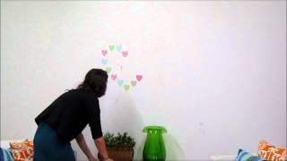 Pretty Hearts Wall Stickers