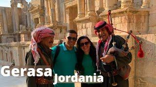 Gerasa 🐪 JORDANIA | ciudad del Decapolis