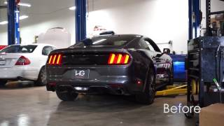 2015 Mustang EcoBoost - Ford Racing by Borla Catback Exhaust System - HG Motorsports
