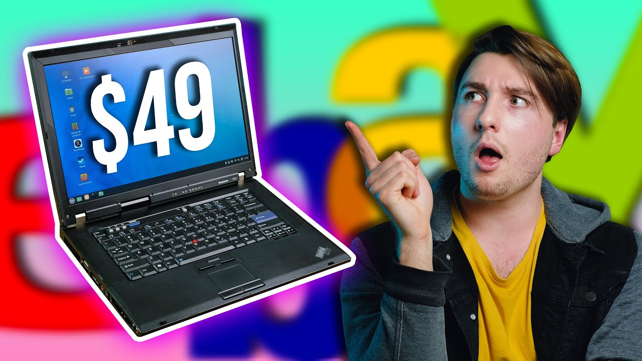 I Bought a $49 Thinkpad... And Got Scammed!