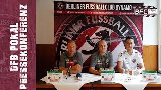 DFB-Pokal - Pressekonferenz im Vorfeld der Partie BFC Dynamo - 1.FC Köln