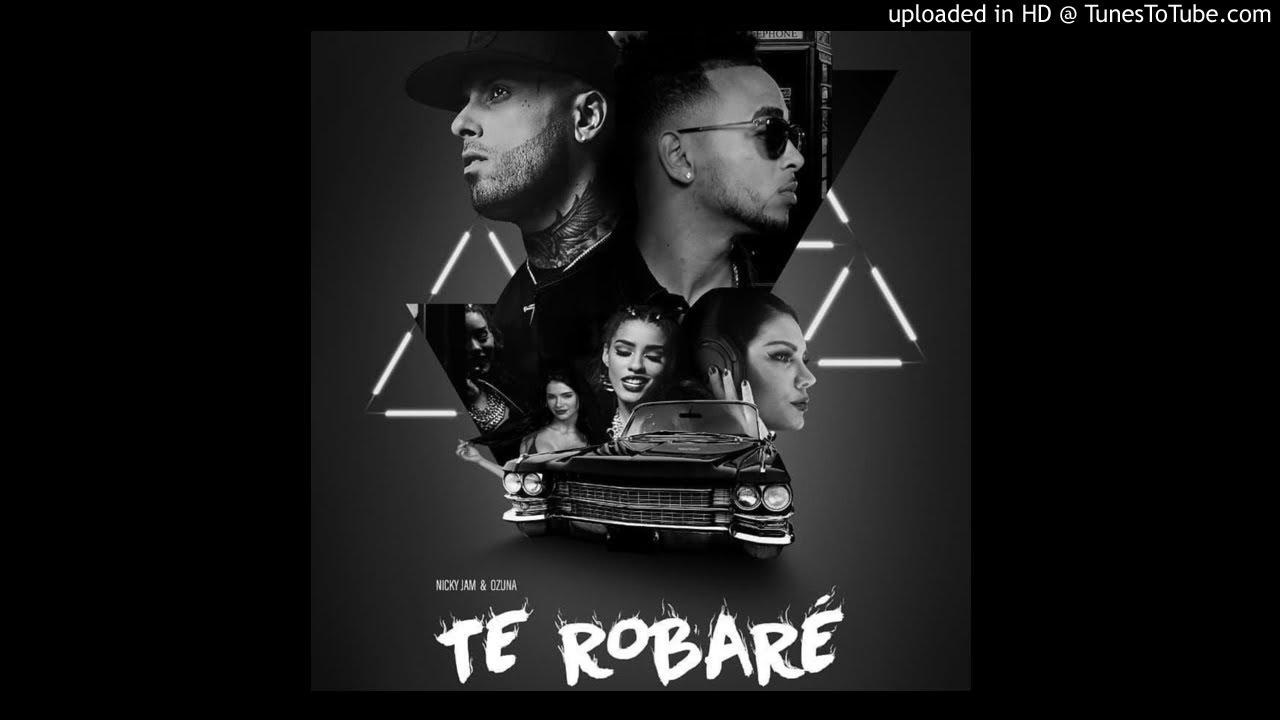 Nicky Jam Ft. Ozuna  - Te Robare (Audio Oficial)