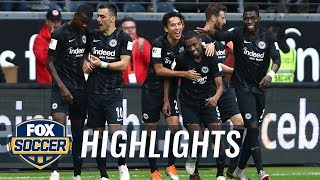 Gelson Fernandes scores opening goal versus RB Leipzig | 2018-19 Bundesliga Highlights