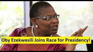 Oby Ezekwesili Joins Race for 2019 Presidency; Durotoye Addresses Fans of New-Generation Aspirants