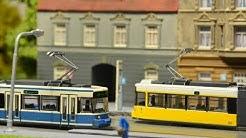 Tram / Strassenbahn Tomytec Berlin a Mnichov GT6N 1:160