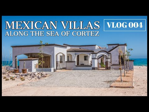 BEACHFRONT VILLAS (San Felipe along the SEA OF CORTEZ) VLOG 004