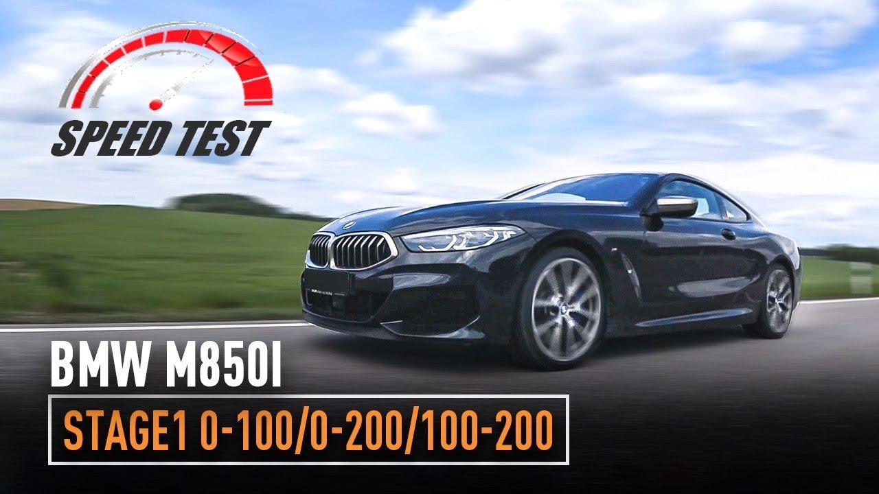BMW M850i Stage-1 / 0-100 / 0-200 / 100-200 /