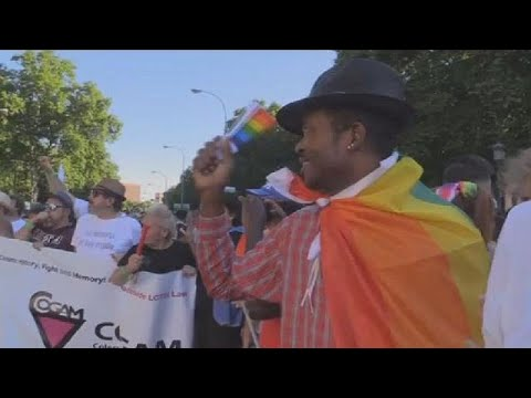 Cameroonian Gay Man Enjoys First Pride In Madrid