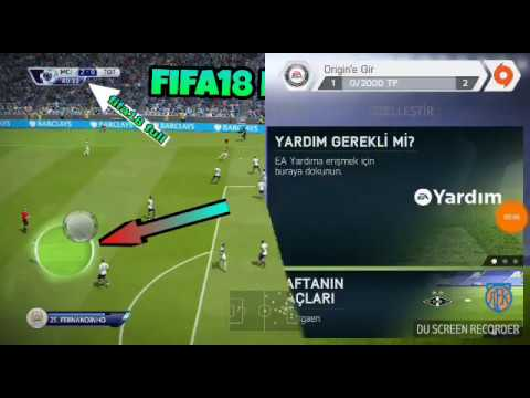 Android fifa18 full versiyon apk,obb,data 1,5gb ofline  #Smartphone #Android