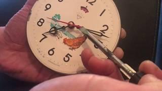 الزئبق الاحمر والبحث في ساعة الدجاجة ذوالغطاء الخلفي الازرق antique