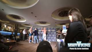 Wild Weigh-in - Yosef Ali Mohammad and Fernando Rodrigues Jr.