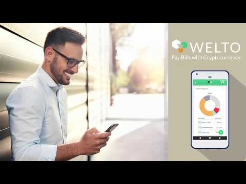 Welto Team: Pay Bills With Cryptocurrency