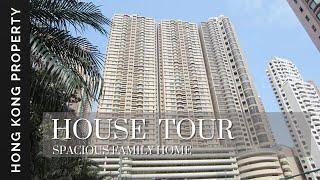 🇭🇰 4K HOUSE TOUR | 1 GARDEN TERRACE - FAMILY FRIENDLY HIGHRISE  | Hong Kong