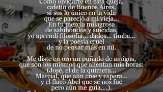 """Astor Piazzolla - """"Cafetín De Buenos Aires"""" (Letra - Lyrics)"""