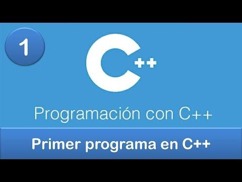 1. Programación en C++    Primer programa en C++