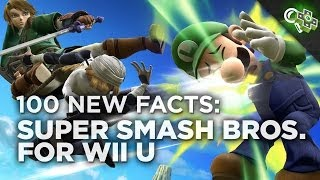 100 New Things We Learned Playing SUPER SMASH BROS for Wii U! Gameplay Hands-On