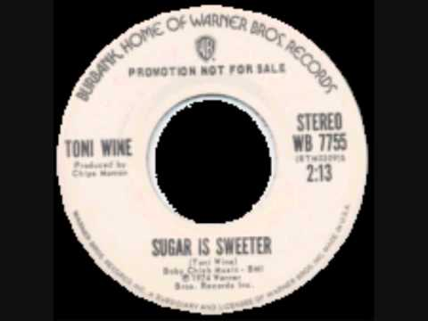 TONI WINE ~ SUGAR IS SWEETER