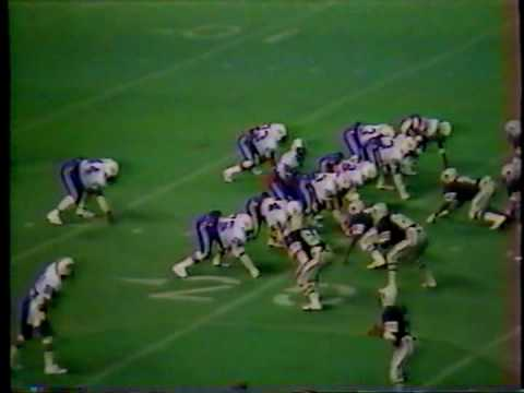 West Brook vs Baytown Sterling 1982 Texas 5A Playoffs-2nd Round