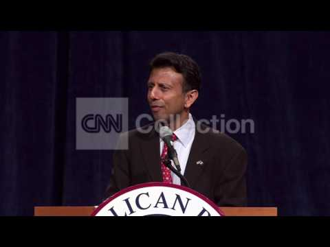 GOP CONVENTION - BOBBY JINDAL WALK UP