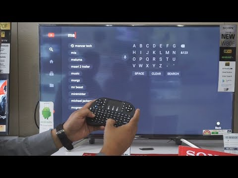 Mini Keyboard With Touchpad Remot Review Model: BAAMZ9