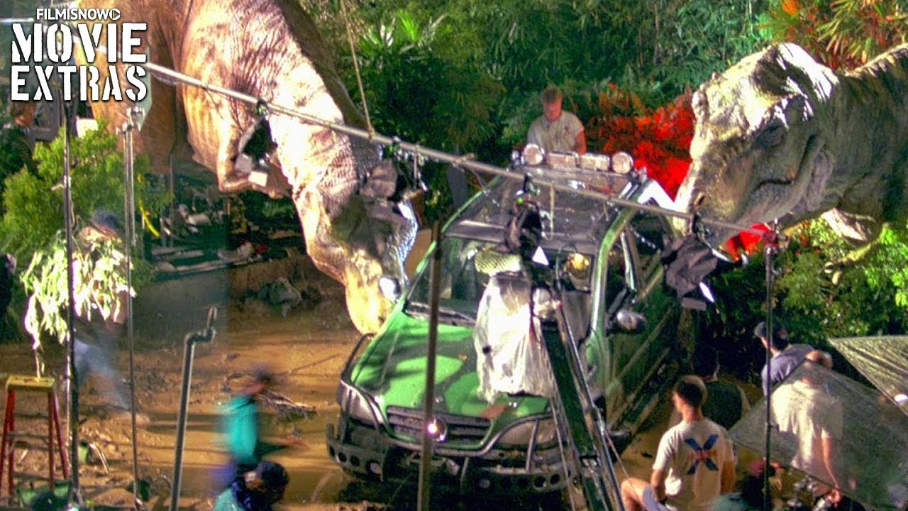 Go Behind The Scenes Of The Lost World Jurassic Park 1997 Youtube