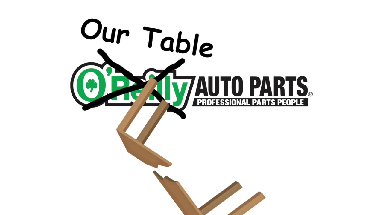 10 Hours of O'Reily X Our Table, It's Broken! REMIX