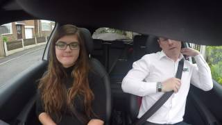 Chloe Bates Driving Lesson 9 & 10 in Derby - Clutch Control/Meeting Scenarios