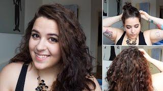 EASY No-Heat Overnight Curls ♥ Tutorial | Ellko