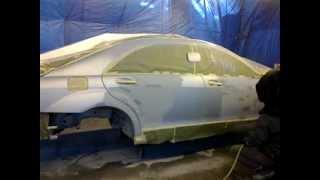 видео Покраска авто по мокрому