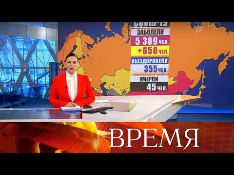 """Выпуск программы """"Время"""" в 21:00 от 05.04.2020"""