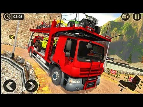 Véhicule Transporteur Remorque Camion Jeu - By Frenzy ...
