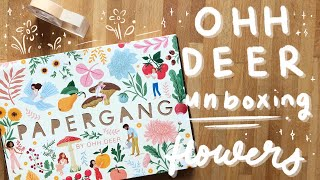 flowers and aesthetic coziness — OHH DEER subscription box
