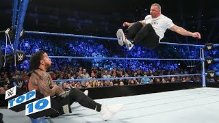 Top 10 SmackDown L VE Moments WWE Top 10 May 14 2019