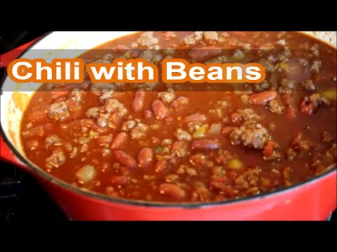 How do you make chili and beans