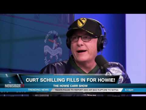 The Howie Carr Show | Curt Schilling Fills In