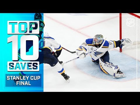 Top 10 Saves of the 2019 Stanley Cup Finals