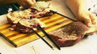 Огонь Рецепт   Как легко и просто закоптить мясо на мангале, Готовим Вкусно   YouTube 720p