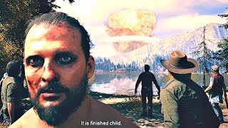 FAR CRY 5 - Final Boss & ENDING (NUKE Explosions)
