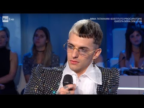 Achille Lauro: dalle difficoltà al successo - Domenica In 06/10/2019