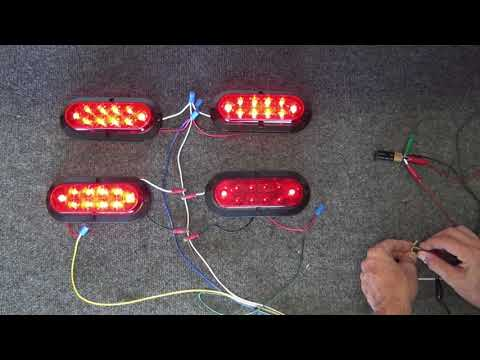 Trailer Lighting Systems, 4 and 5 Wire, Explained