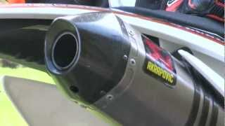 KTM Akrapovic Auspuff Sound ohne DB-Eater / DB Killer - www.rebike.de