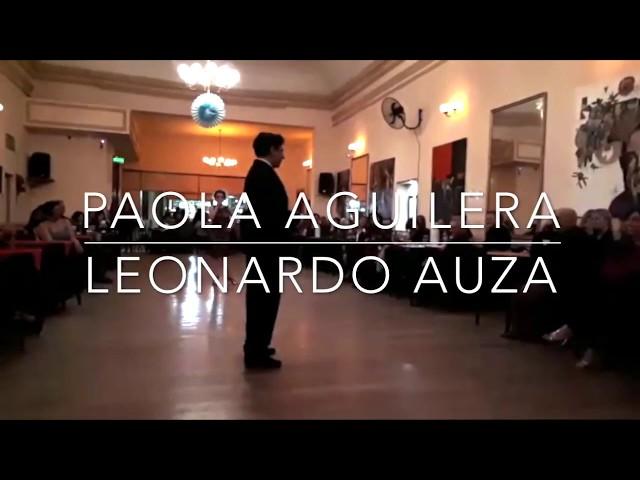 Paola Aguilera y Leonardo Auza Tango Bailando en Mi Refugio