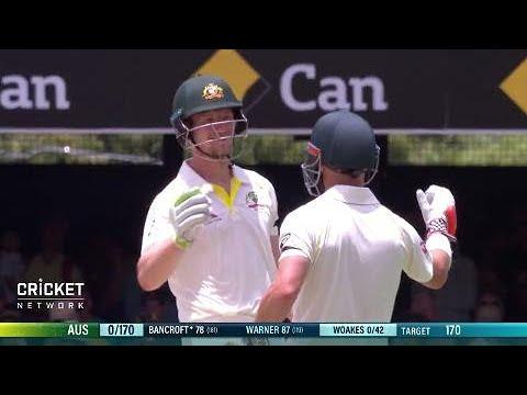 First Test: Australia v England, full wrap