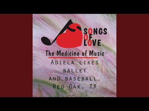 Adiela Likes Ballet and Baseball, Red Oak, Tx