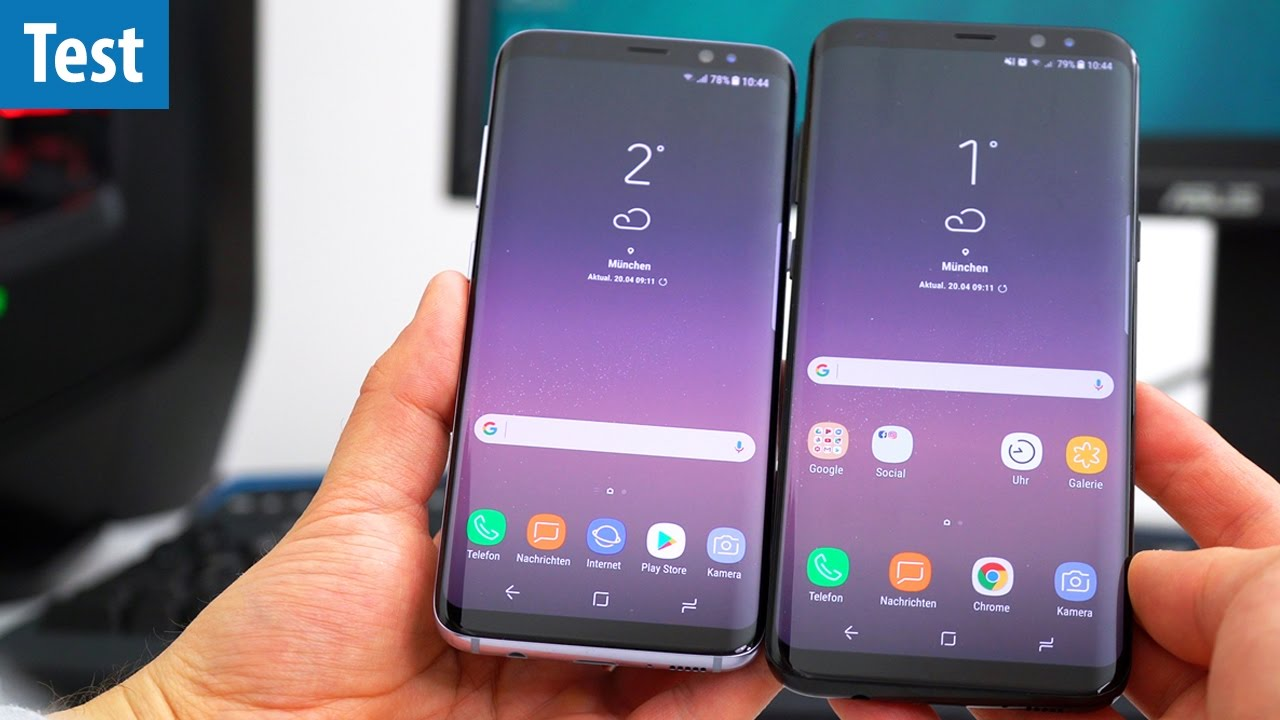 das fast perfekte smartphone galaxy s8 s8 im test deutsch german youtube. Black Bedroom Furniture Sets. Home Design Ideas