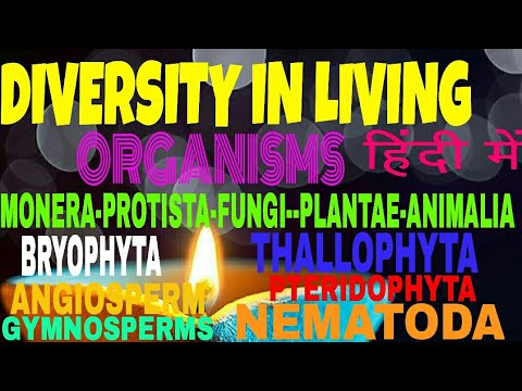 DIVERSITY IN LIVING ORGANISMS IN HINDI CBSE CLASS 9 SCIENCE LESSON 7