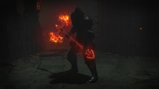 Path of Exile - Infernal Axe Weapon Skin