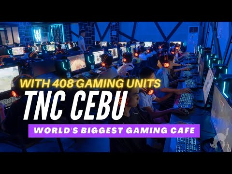 Biggest Gaming Cafe In The World Is In Cebu? Welcome To TNC CEBU Headquarters!