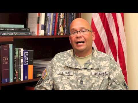 Command Sergeant Major of New Jersey Speaks About Albanian Partnership Program