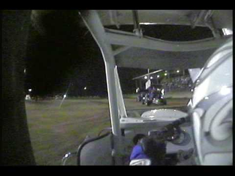 Brandon Rose in-car cam at Miami County Speedway